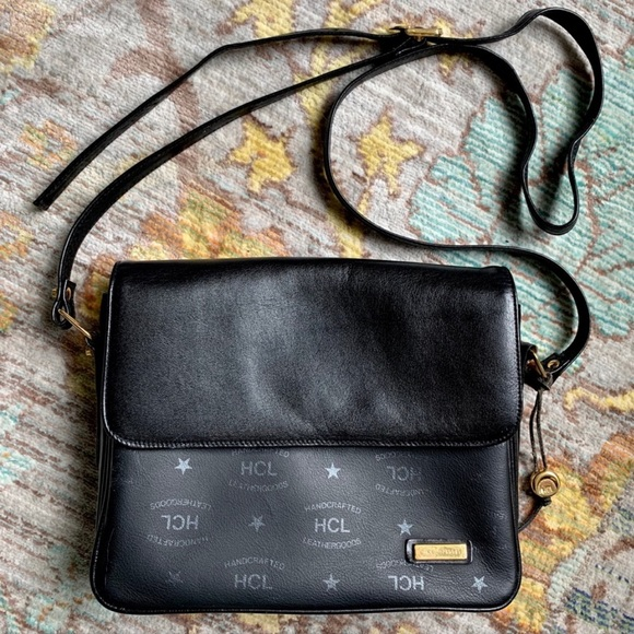 Handcrafted Leather Goods HCL Handbags - HCL Handcrafted Leathergoods Vintage Leather Bag